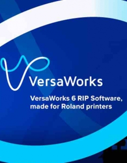 Roland DG Announces Latest Version of VersaWorks 6 RIP Software with Important New Functions for Inkjet Printers